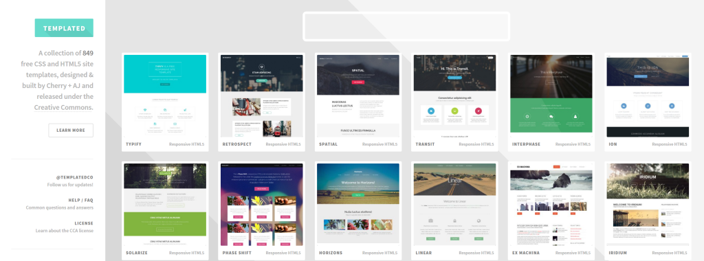 2015-11-01 19_19_03-TEMPLATED - CSS, HTML5 and Responsive Site Templates